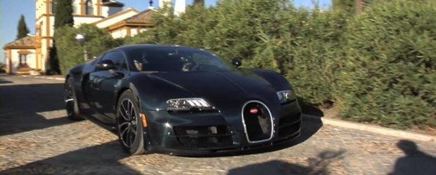Hot Video: Opt minute in compania impresionantului Bugatti Veyron SuperSport!