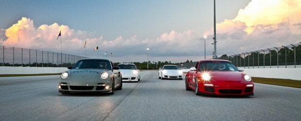 Hot Video: Porsche-urile iau cu asalt circuitul Palm Beach International Raceway!
