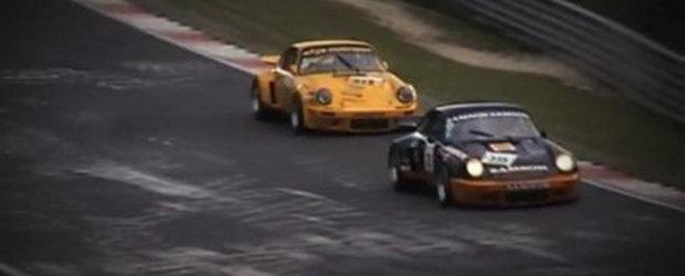 Hot Video: Strabate Nurburgring-ul la bordul unui Porsche 911 RSR!
