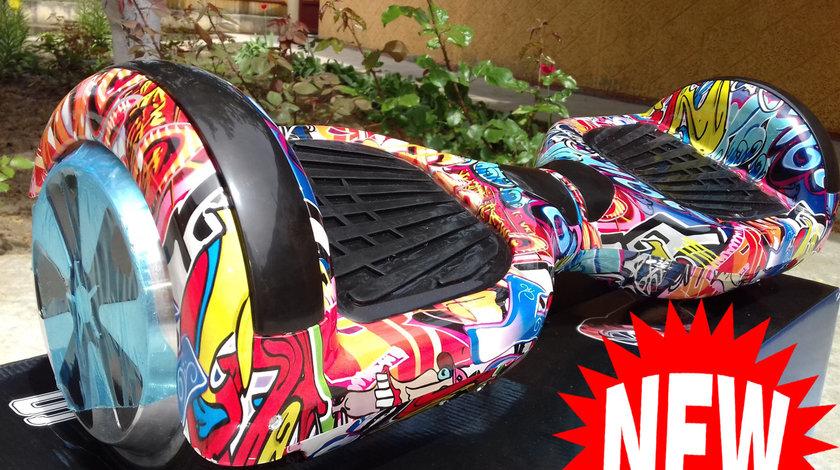 Hoverboard Smart Wheel NOU 2x500w Bluetooth,Telecomanda,Geanta Cadou