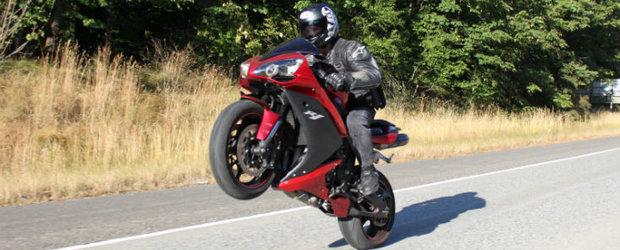 HOW TO? Amenda de 1000 de Euro pentru un motociclist din Arad!