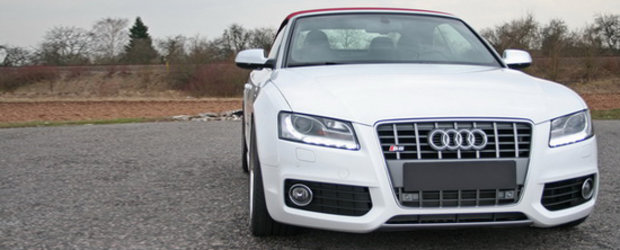 HS Motorsport modifica noul Audi S5 Cabrio - Senzatii tari in aer liber!