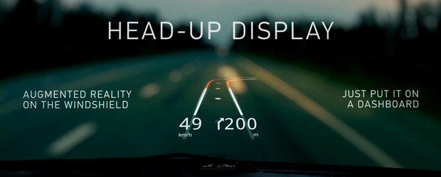 HUDWAY: Cum sa te bucuri de Head Up Display in masina ta (indiferent de marca si model)