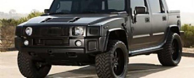 Hummer H2 SUT negru mat