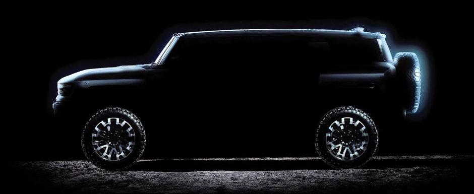 HUMMER se intoarce! Americanii anunta noul SUV cu 1.000 CP si 15.592 Nm sub capota