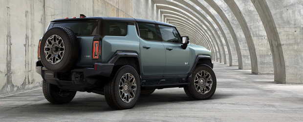 HUMMER se intoarce! Americanii prezinta oficial noul SUV cu 830 CP si 15.592 Nm sub capota
