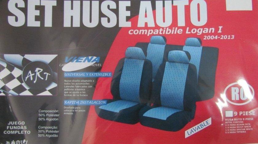 Husa auto compatibile DUSTER 2008-> din 9 piese. Calitate Premium VistaCar