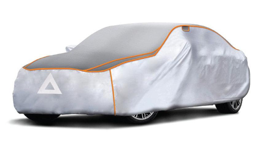 Husa auto exterior anti-grindina 460x160x120 cm Marimea M