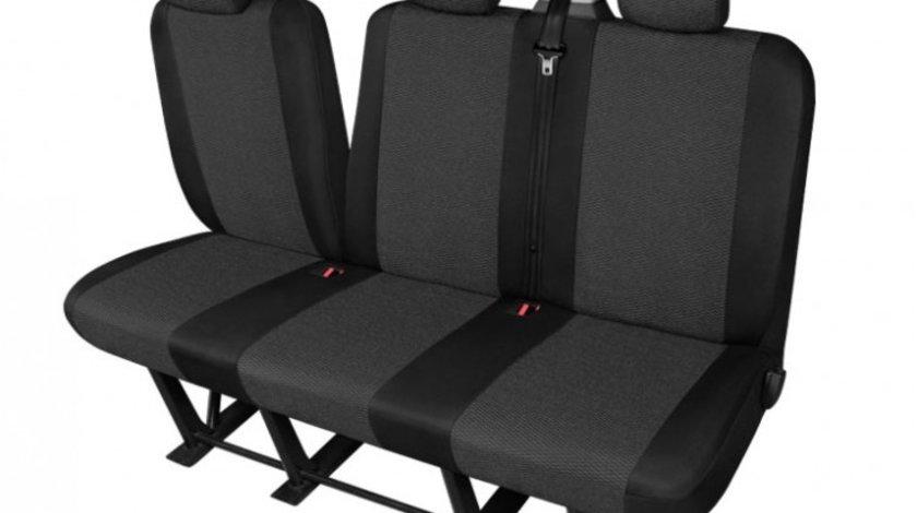 Husa bancheta cu trei locuri Ares Van DV3 Split , pentru Nissan Primastar 1, Opel Vivaro, Renault Trafic 2 , cu bancheta fractionata Kft Auto