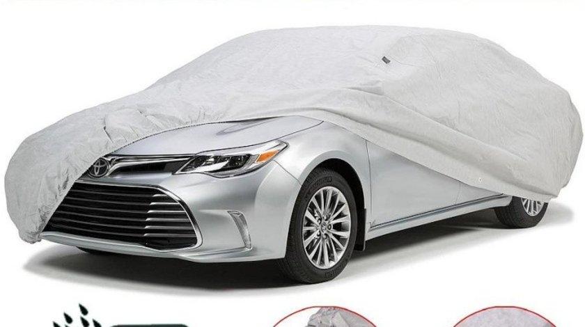 Husa Prelata Auto Skoda Fabia Hatchback Impermeabila, Anti-Umezeala, Anti-Zgariere si cu Aerisire, Material Premium