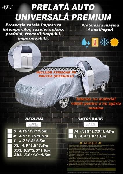 Husa Prelata Auto Skoda Octavia I/II Berlina Impermeabila, Anti-Umezeala, Anti-Zgariere si cu Aerisire, Material Premium