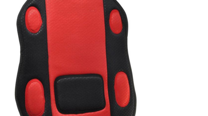 Husa scaun auto Automax rosie pentru scaunele din fata , 1 buc. Kft Auto