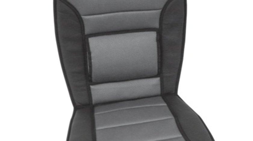 Husa scaun auto Carpoint gri pentru scaunele din fata , 1 buc.