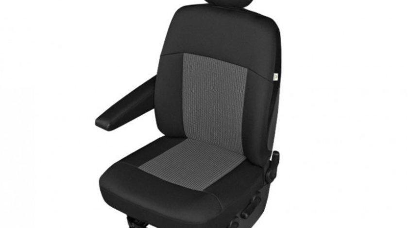 Husa scaun auto sofer Apollo DV1 L , pentru Citroen Jumpy, Fiat Scudo, Ford Transit, Mercedes Vito, Opel Vivaro, Movano, Peugeot Expert, Renault Trafic, Master, Vw Transporter T6