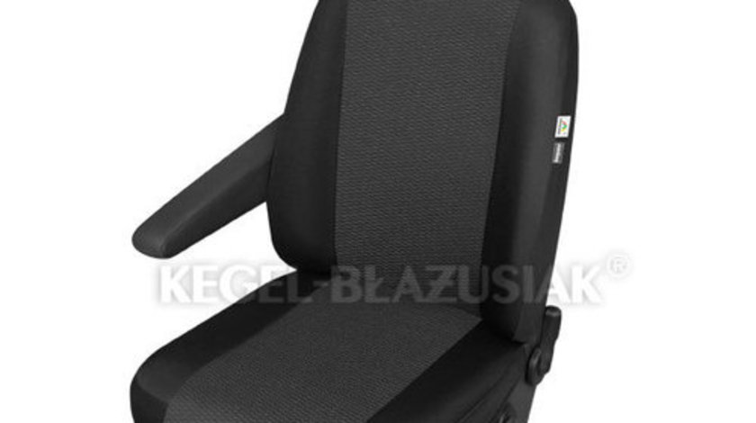 Husa scaun auto sofer Ares Trafic pentru Citroen Jumper, Iveco Daily, Kia Pregio, Peugeot Boxer, Renault Master, pentru cotiera dreapta