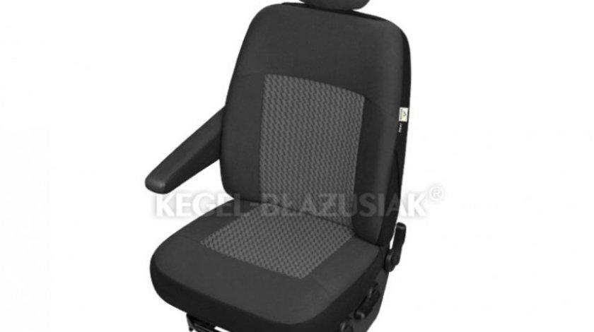 Husa scaun auto sofer Van Perun DV1 L pentru Citroen Jumpy, Fiat Scudo, Ford Transit, Opel Vivaro, Vw T6, Renault Master Kft Auto