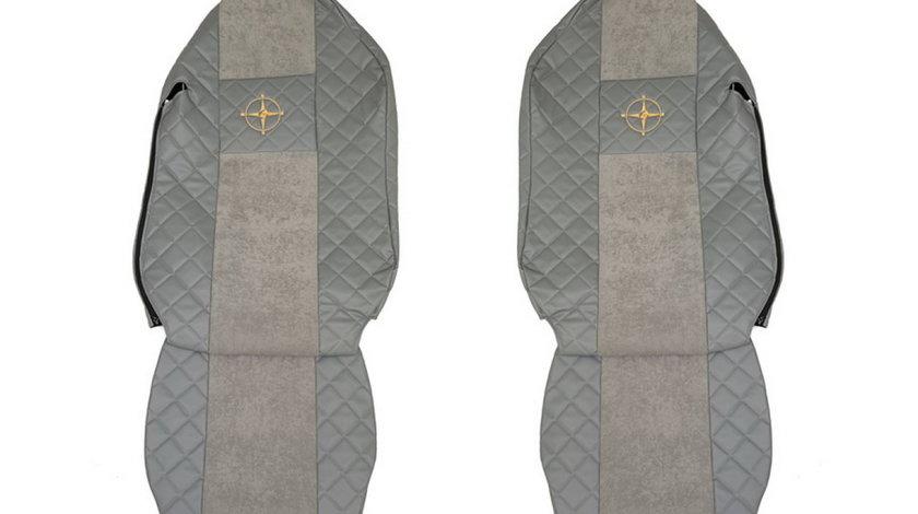 Husa scaun MERCEDES-BENZ ACTROS MP2 / MP3 Producator F-CORE FX10 GRAY