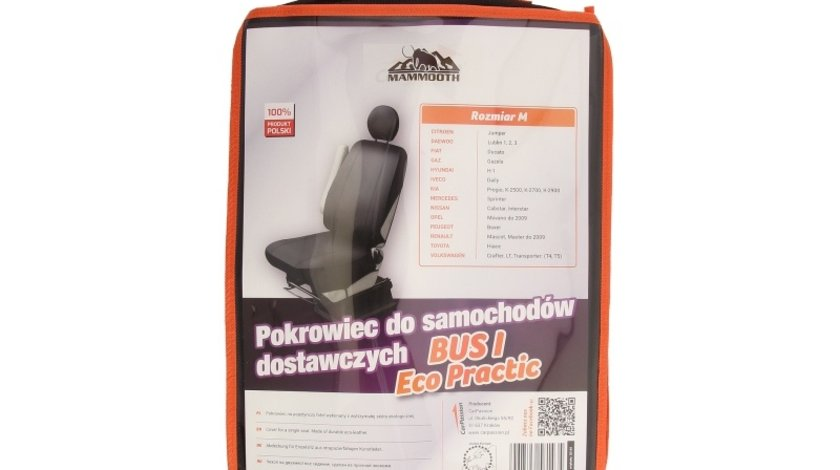 Husa scaun pt bus mammooth marime M