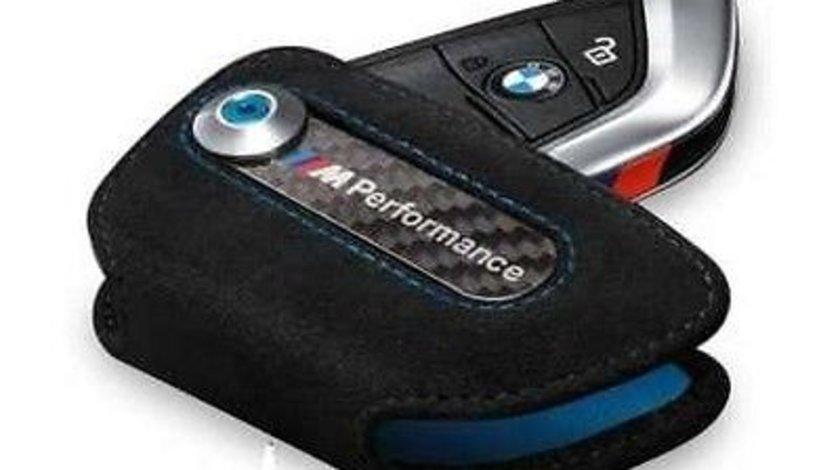 Husa/toc piele cheie M PERFORMANCE BMW X5 (F15) X6 (F16) G11 G12