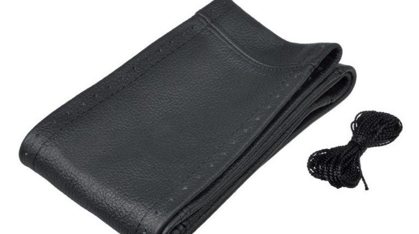 Husa Volan, Automax, din piele, cu snur, 36,5-39cm
