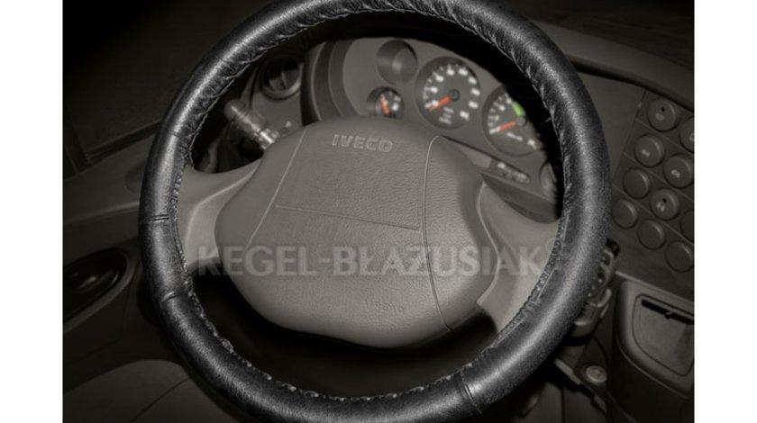 Husa volan cu snur din piele VAN CLASSIC B-size 40-42cm Kft Auto