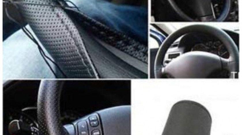 Husa volan Mazda Piele Perforata Ac si Ata