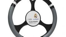 Husa volan negru-gri Real Madrid 37-39cmm PVC Kft ...
