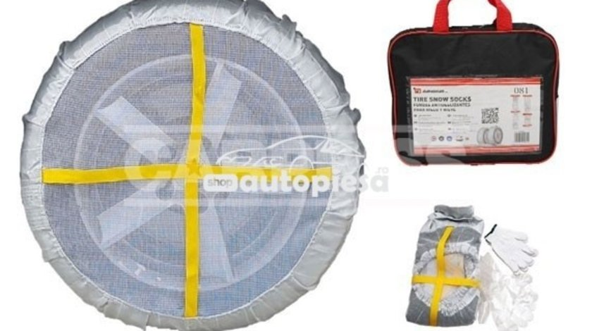Huse antiderapante pentru roti 185/60 R16 - set 2 bucati CARPRISS 69250078 produs NOU