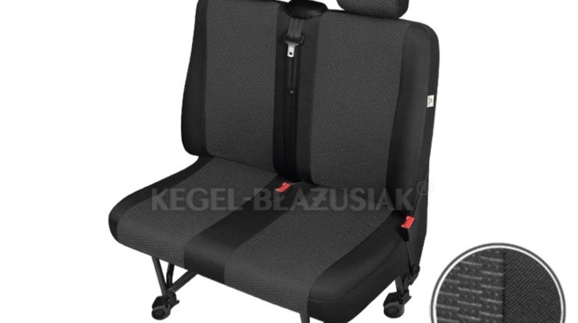 Huse scaun bancheta auto cu 2 locuri Ares Trafic pentru Nissan Primastar Opel Vivaro Renault Trafic