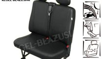 Huse scaun bancheta auto cu 2 locuri din imitatie ...