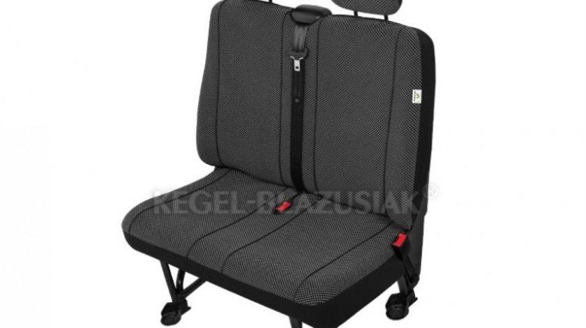 Huse scaun bancheta auto cu 2 locuri Scotland M size pentru Citroen Jumpy Fiat Scudo Mercedes Vito Peugeot Expert Vw T4 T5