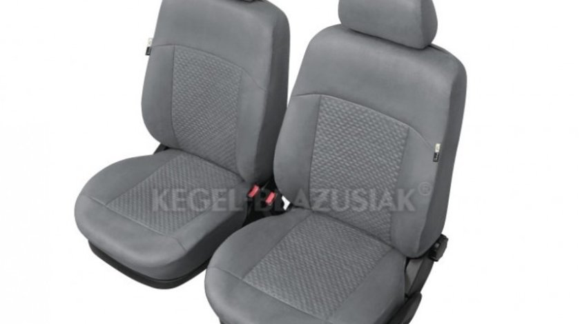 Huse scaune auto Arcadia Gri marimea XL , Fata set huse auto Kegel Kft Auto