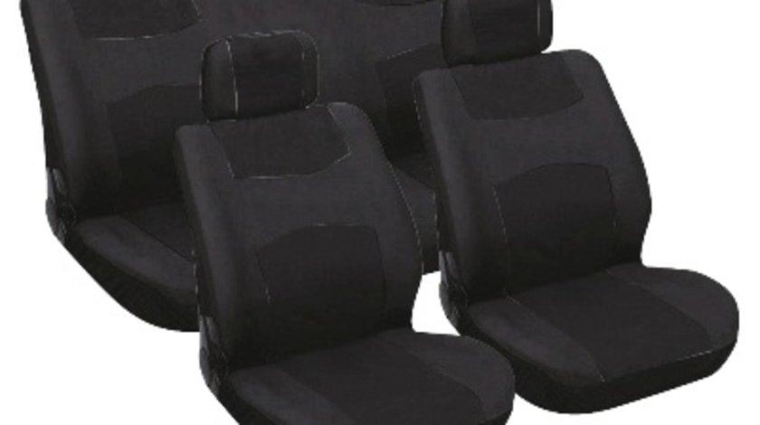 Huse scaune auto Carpoint 6 buc negre