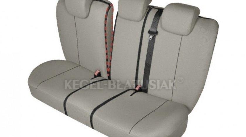 Huse scaune auto Hermen-Herman Bej Deschis M-L-Size , Spate set huse auto Kegel Kft Auto