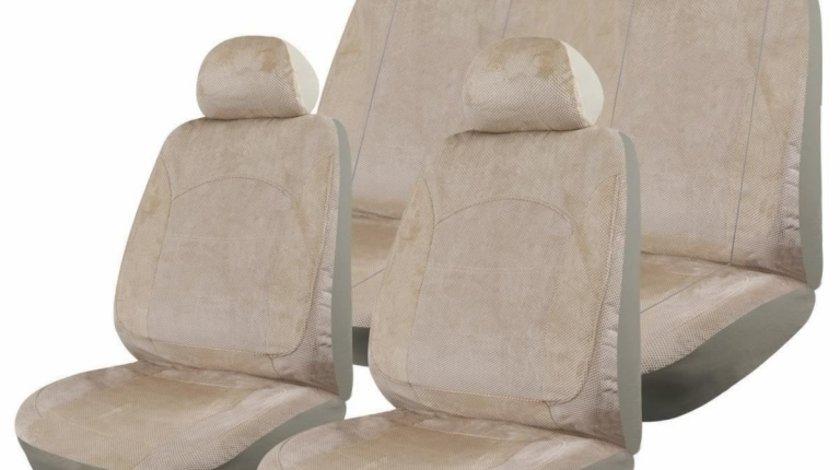 Huse Scaune Auto Nissan Pathfinder - Luxury Crem 9 Bucati - ALO19172