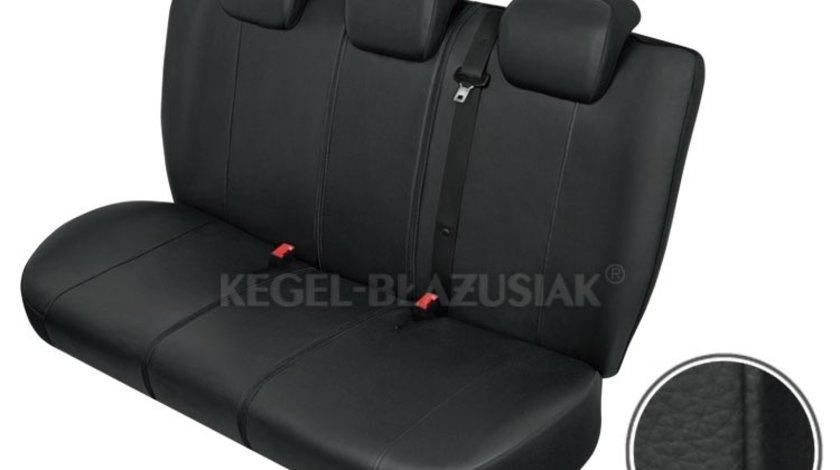 Huse scaune auto Practical L-XL-Size Super AirBag - Spate set huse auto bancheta spate imitatie piele Kegel Kft Auto