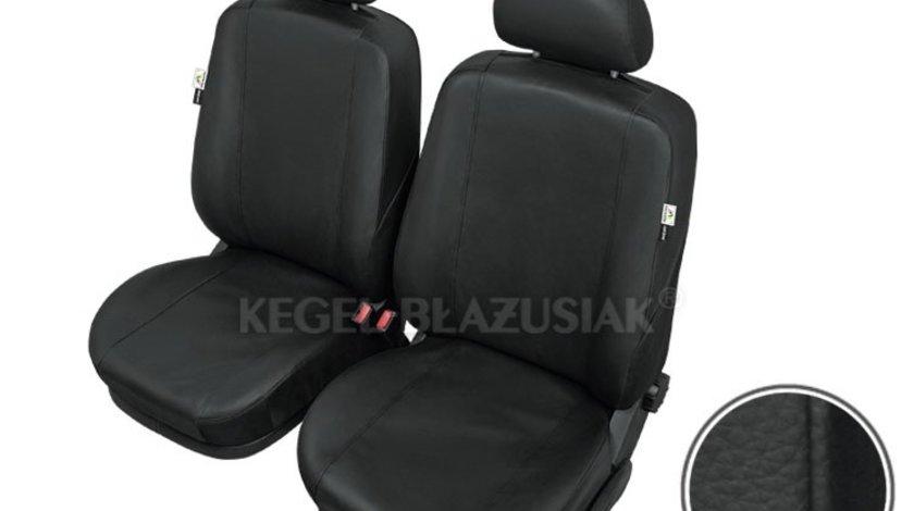 Huse scaune auto Practical M-Size Super AirBag - Fata set huse auto imitatie piele Kegel