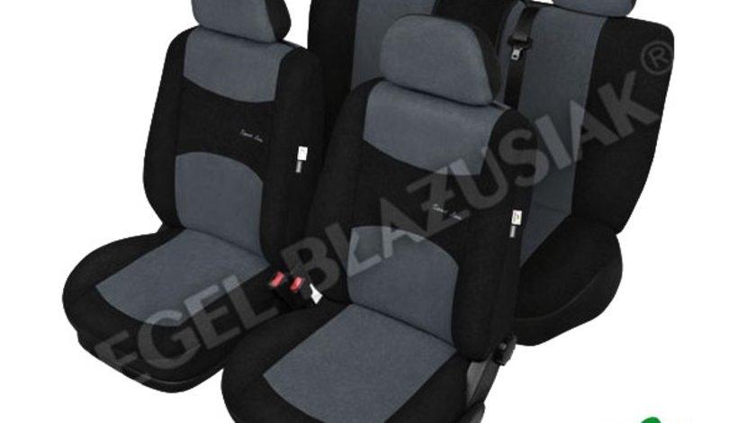 Huse scaune auto Sport Line Super Marime L, AirBag gri