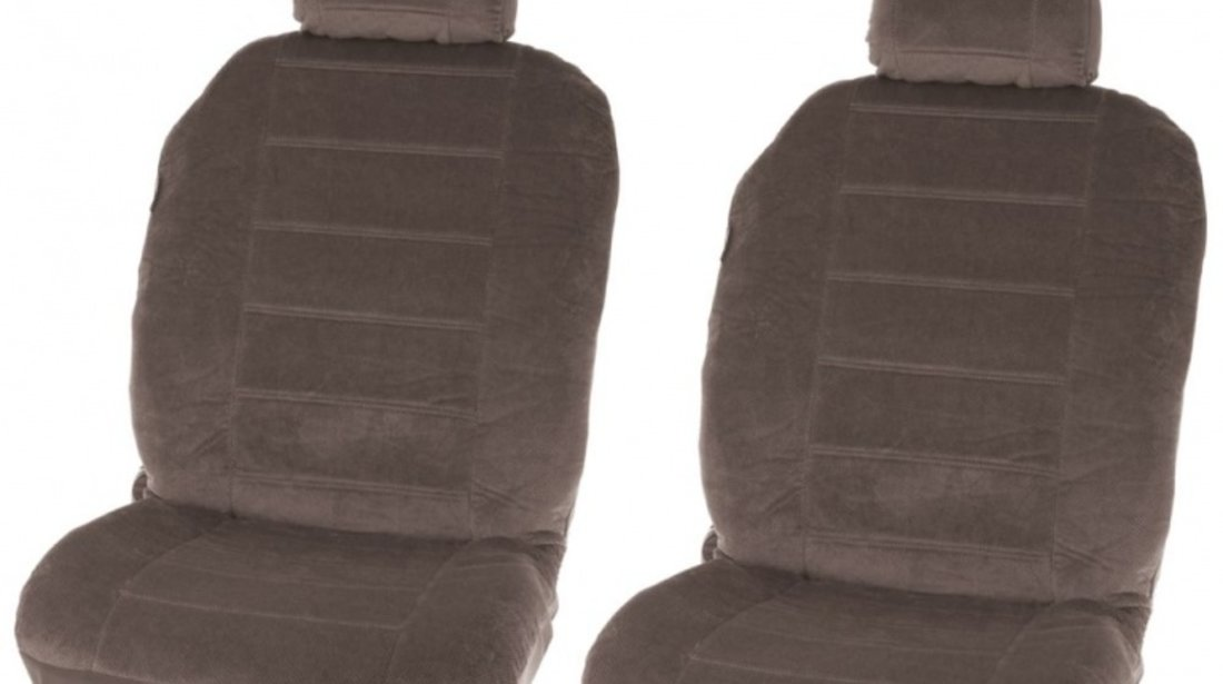 Huse scaune auto Washington Grey , set huse Fata 4 piese
