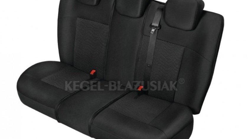 Huse scaune model Poseidon Negru marime L-XL, Spate set huse auto Kegel