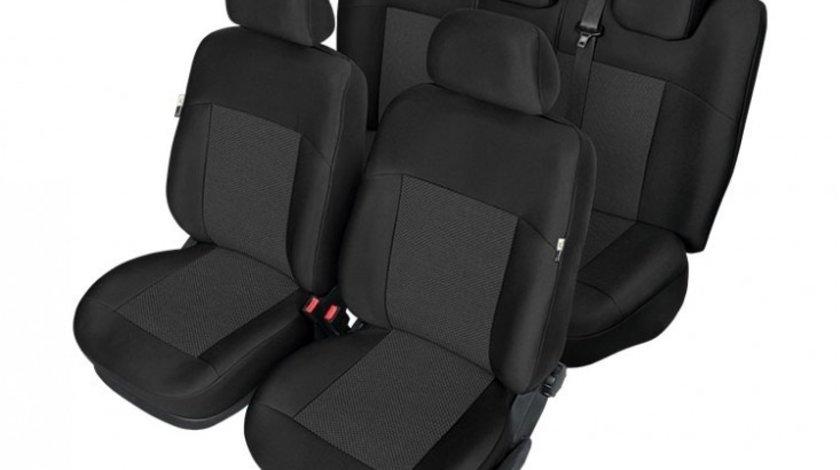 Huse scaunee auto Kegel Tailor Made pentru Ford Focus 2 2004-2011, Ford Focus 3 2011- , set huse fata + spate - Huse DEDICATE