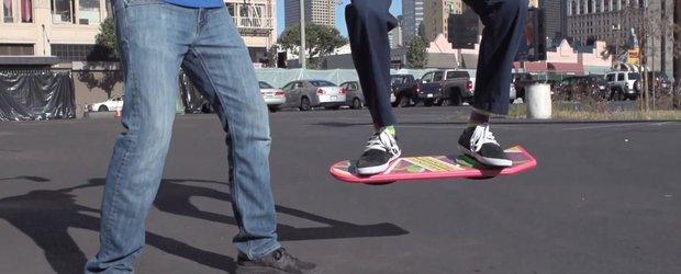 HUVr, un skateboard care leviteaza. Viitor sau imaginatie?