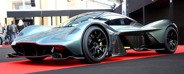 Hypercarul construit de Aston Martin arata si mai demential in realitate