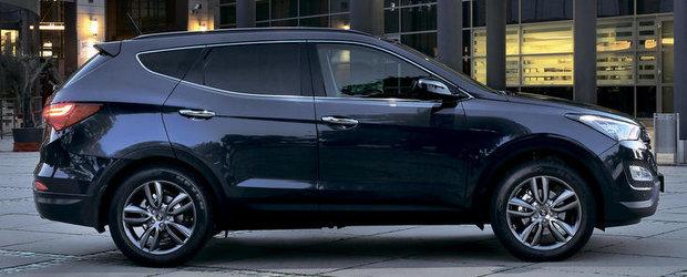 Hyundai a dezvaluit cat va costa noul Santa Fe in Romania