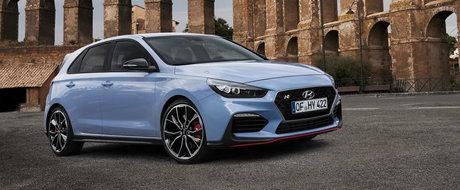 Hyundai a lansat i30 N si in Romania, dar pretul e neasteptat de mare. Un Megane RS costa cu 7.000 euro mai putin