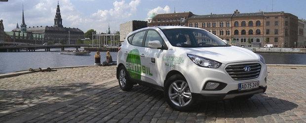 Hyundai a livrat primele 15 masini din Europa pe baza de hidrogen
