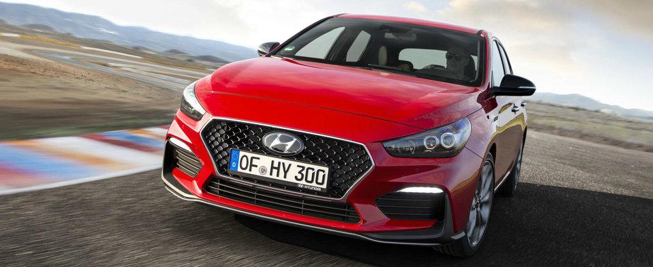 Hyundai condimenteaza putin gama i30. Versiunea N LINE lansata oficial cu doua motorizari
