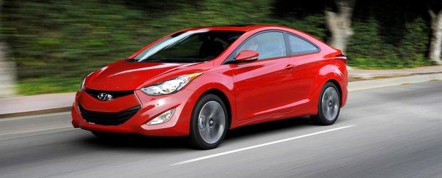 Hyundai Elantra Coupe, lansat oficial