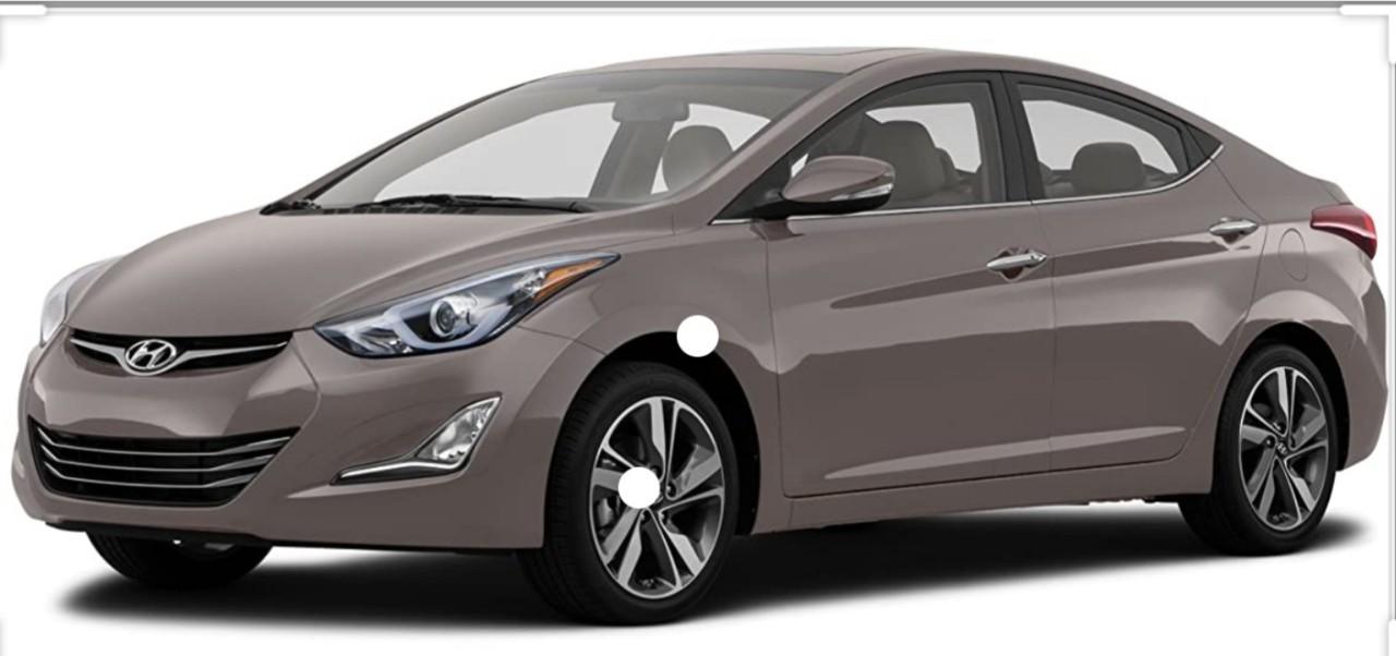 Hyundai Elantra Cumpar avariata 2012