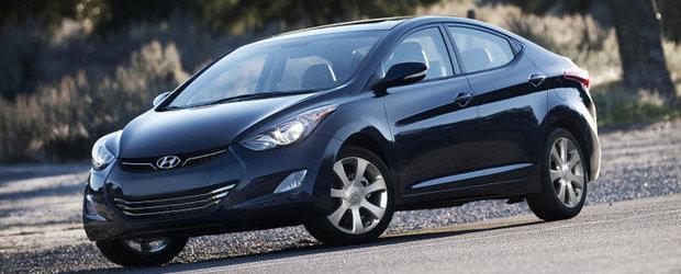 Hyundai Elantra este Masina Anului 2012 in America de Nord!
